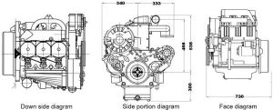 Deutz F3l913 Diesel Engine Hot Sale pictures & photos