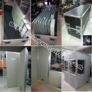 Wireless Translation System Portable Interpretation Booth Ys-1109 pictures & photos