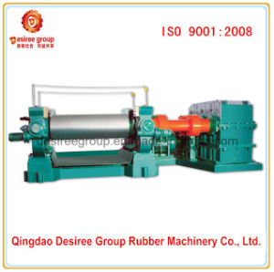Two Roll Rubber Plastic Fining Mixer