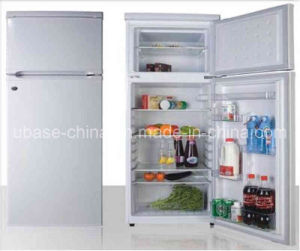 Double Door-up Freezer Refrigerator 260L pictures & photos
