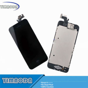 Best Quality LCD for iPhone 5 LCD Screen with Camera Flex Cable Small Parts pictures & photos