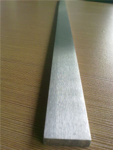AISI 304 Stainless Steel Flat Bar, Hair-Line and Pilished