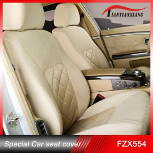 Car Seat Cover/Yellow Specail Size Leather Material, Fit for Benz, Toyota Car Seat Cover