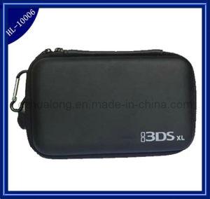 Black EVA Hard Case Bag Pouch for 3ds Xl (HL-10006)