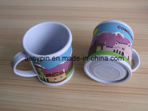 Promotional 3D Soft PVC Cup Mugs for Kids pictures & photos