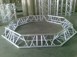 Good Quality Copetitive Price Durable Stage Lighting Truss/Aluminum Stage Truss Truss (Circular truss) for Exhibition, Events with Roof pictures & photos