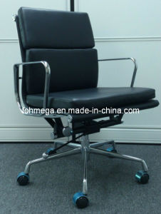 Top Quality Upholstered Eames Chair Medium Back Staff Chair (FOH-MF21-B) pictures & photos