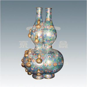 Vase with Two Bottle Gourds (01A90934)