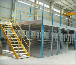 High Quality Steel Structure Mezzanine (ISM924) pictures & photos