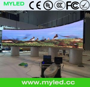 16m Pixels Curve LED Screen Flexible Curtain LED Soft LED Display LED Video Wall pictures & photos