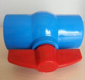 2015 Hot Selling Blue PVC Ball Valve/PVC Valve pictures & photos