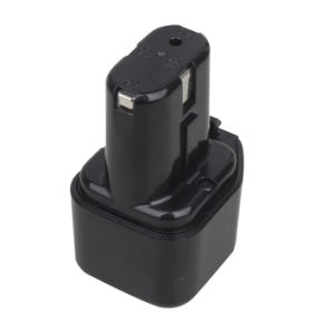 Rechargeable 3000mAh Power Tool Battery for Hitachi 7.2V Drc10 with Grade a Cells pictures & photos