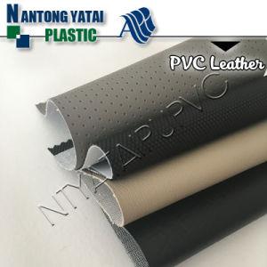 Imitation PVC Vinyl Faux Leather for Car Seats pictures & photos