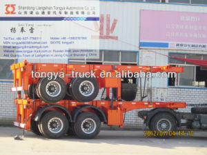 Best-Selling 20FT Container Semi Trailer for Sale pictures & photos