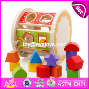 New Design Multi-Function Blocks Wooden Shape Toys for Toddlers W12D066 pictures & photos