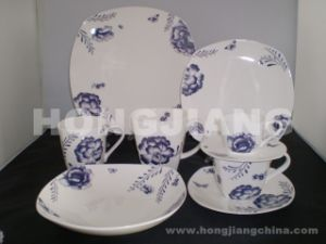 Bone China Dinner Set (HJ068002) pictures & photos