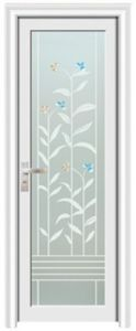 Bathroom Door / Glass Door / Aluminum Door (YF-K02) pictures & photos