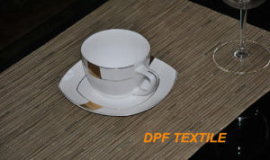 Dish Mat for Kitchen Cushion Pad PVC Heat Pad Waterproof Dining Table Mats Coffee Dish Plate Holder (DPR6015) pictures & photos