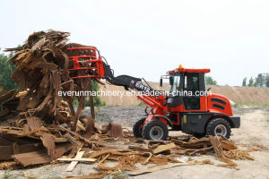 Everun Brand CE Approved Articulated 1.2 Ton Front End Loader pictures & photos