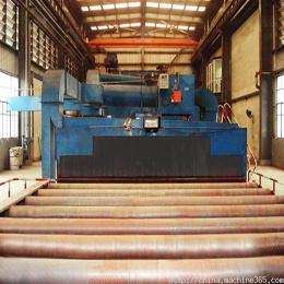 Steel Plate Rust Cleaning Machine pictures & photos