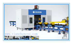 CNC Steel Structure Drilling Facility for H Beam (TSD300/9) pictures & photos