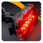 Bike Rear Light [Red]