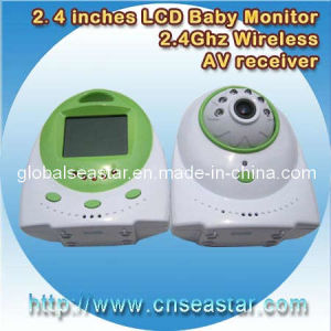 2.4GHz Digital 2.4 Inches TFT LCD Wireless Baby Monitor Camera (S-825M)
