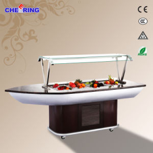 China Manufacture Marble Buffet Display Cooler pictures & photos