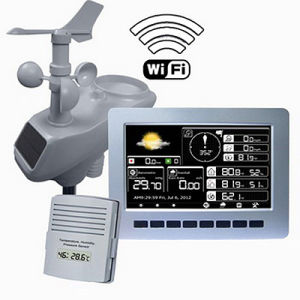 Wireless Professional Weather Station with WiFi and TFT Color Display pictures & photos