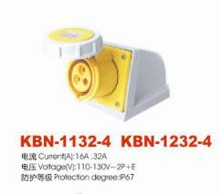Industrial Plugs and Socket (KBN-1132-4)