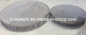 2015 Best Sale Low Cost Top Quality Metal Structured Packing Mesh Corrugated Packing