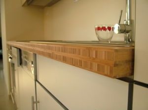 Solid Bamboo Countertop pictures & photos