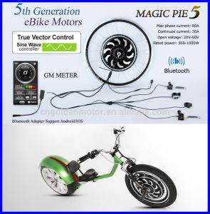 Bluetooth Programmable! 250W 500W 1000W Magic Pie 5 Electric Bike Motor with Display Available for for Android/Ios pictures & photos