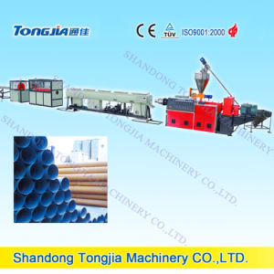 Plastic Extrusion Machine-PVC Rigid Pipe Machine pictures & photos