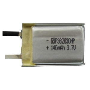 UL, UN, RoHS Approved Polymer Li-ion Battery GSP382030