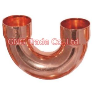 180 Degress Elbow-Red Copper