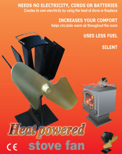 Heat Powered Stove Fan pictures & photos