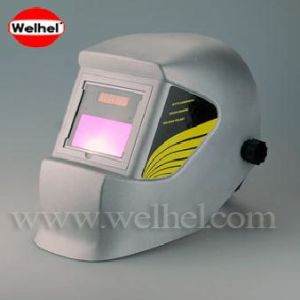 Solar Powered Auto-Darkening Welding Helmet (WH4400 SILVER) pictures & photos