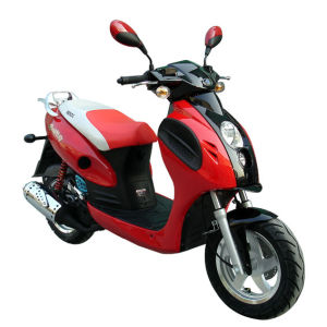 2-Stoke/4-Stroke 50cc Gasoline Scooter (BD125T-2A-I)