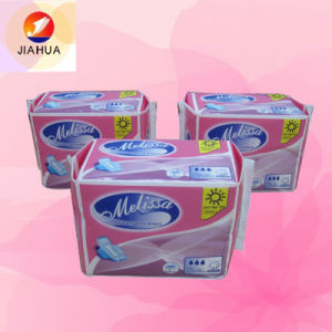 Silk Dry High Absorption Sanitary Napkin (JHP025) pictures & photos