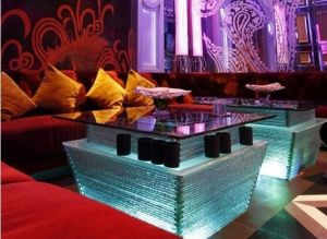 Modern LED Karaoke Coffee Table (LH-G003) pictures & photos