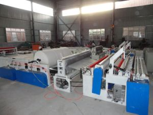 Guangmao High Quality Automatic Tissue Paper Rewinding Machine (GM-D) pictures & photos