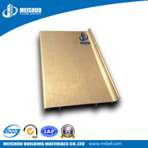 Waterproof Decorative Polished Aluminum Wall Baseboard pictures & photos