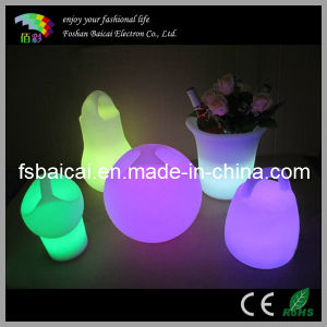 Cordless Rechargeable Colorful LED Decorative Light pictures & photos