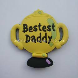 High Quality Custom Soft Enamel Fridge Magnet (FM-06) pictures & photos