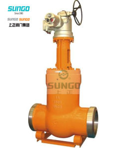 Cast Steel Gate Valve Gear Operation pictures & photos