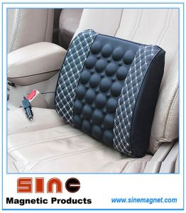 Car Magnetic Electric Massage Waist Cushion pictures & photos