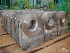 High Manganese Steel or High Chrome Casting Iron Hammer