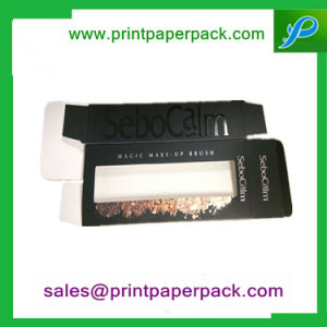 Custom Printed Cosmetic Packaging Cardboard Paper Cosmetic Box with PVC Window pictures & photos