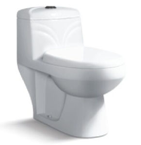 Ceramic Siphonic Flush Water Closet One Piece Toilet pictures & photos